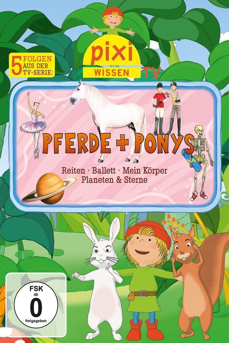 Pixi Wissen TV - Pferde + Ponys: Pixi Wissen TV
