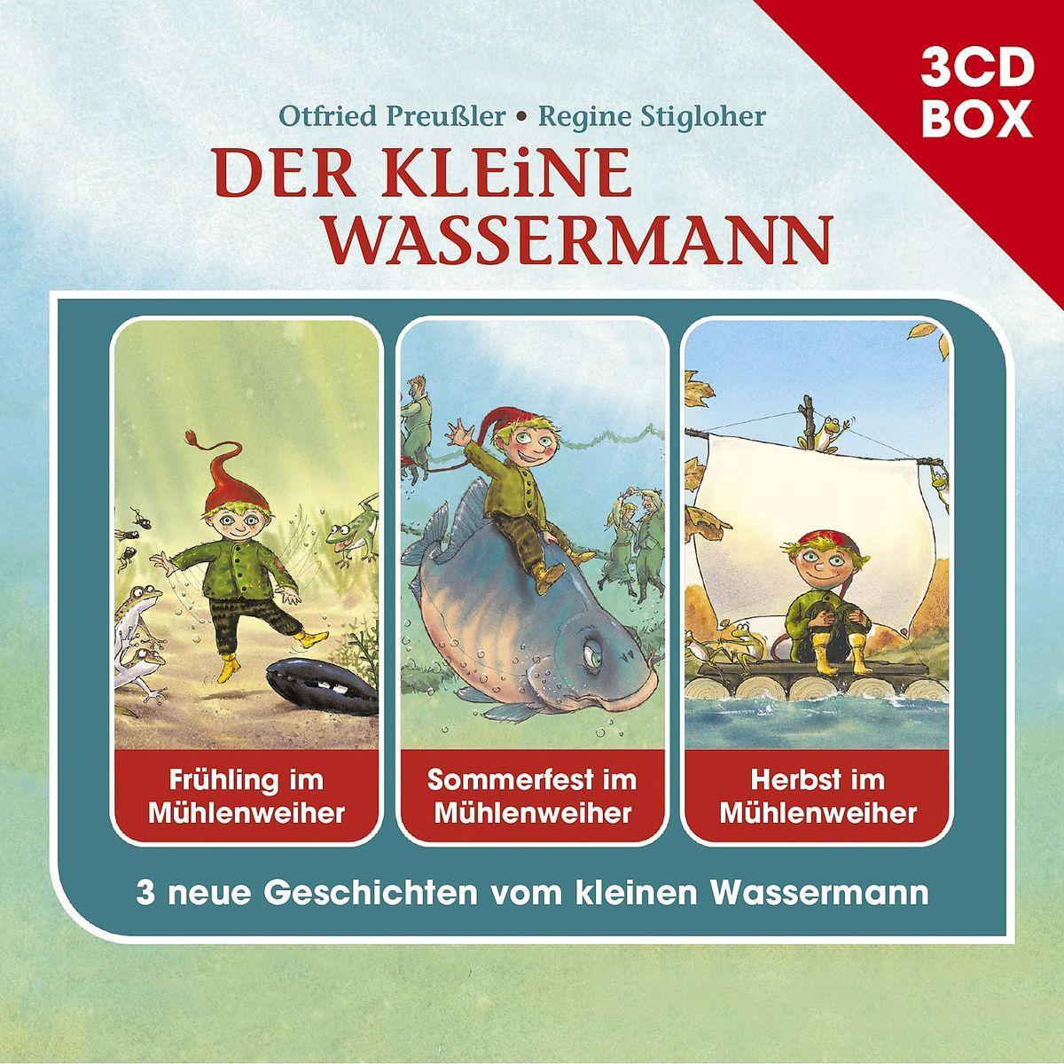 Der Kleine Wassermann-3-Cd Hörspielbox: Otfried Preußler