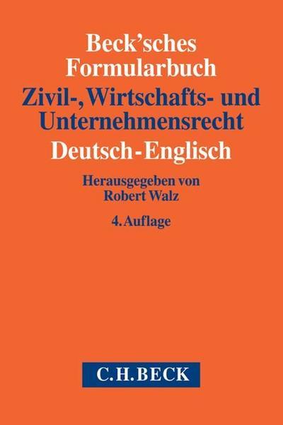 Becksches Formularbuch Zivil Von Robert Zvab