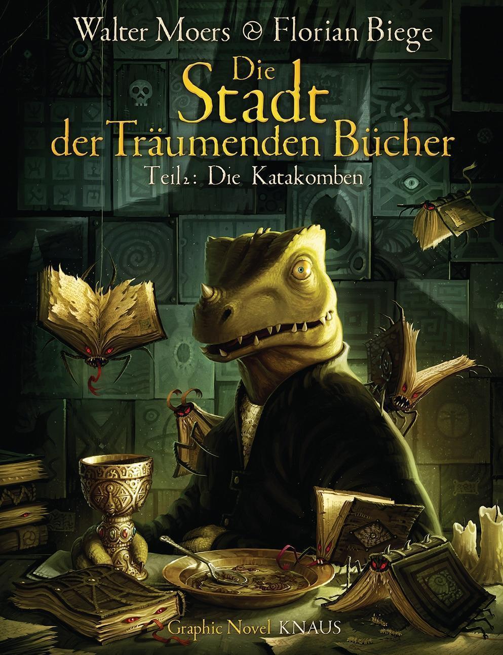 Die Stadt der Träumenden Bücher (Comic) : Walter Moers