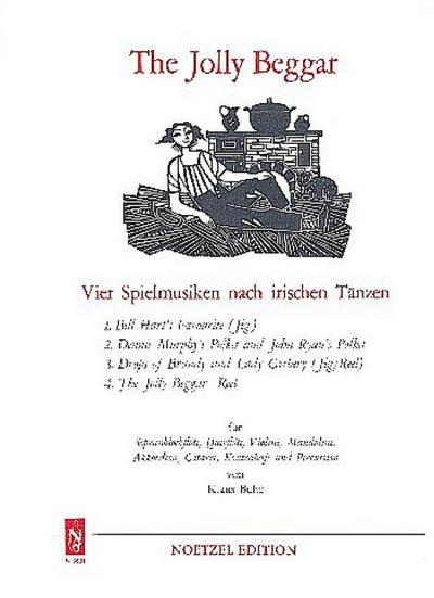 The jolly Beggar : 4 Spielmusikennach irischen: Klaus Buhe