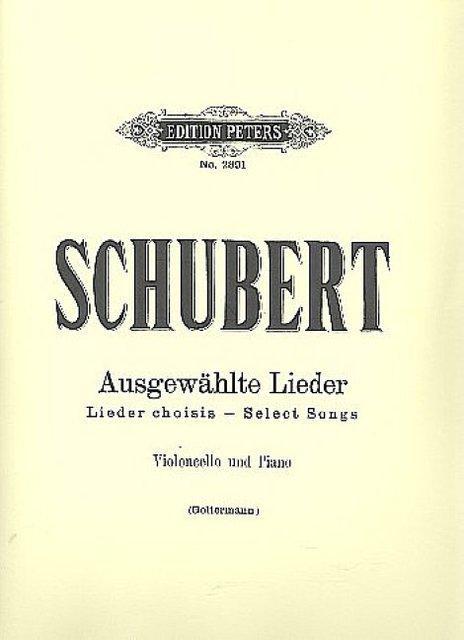 Ausgewählte Lieder Franz Abt Mezzo-sopran Oder Bariton Abt Album. Band 1