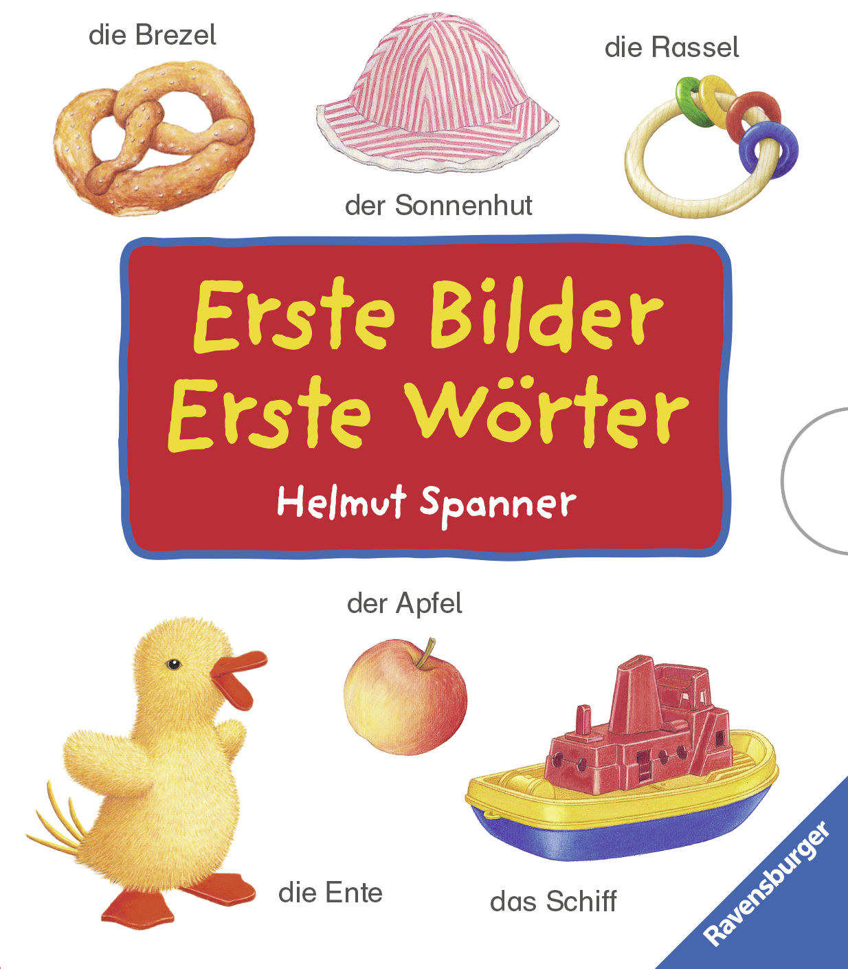 Erste Bilder - Erste Wörter (4 Titel im Schuber) - Helmut Spanner