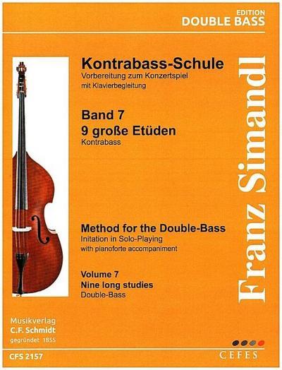 Franz Simandl : Kontrabass-schule Band 1 Orchesterspiel Lagen Vorbereitung Z