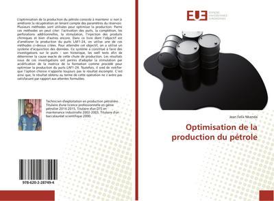 Optimisation de la production du pétrole - Jean Felix Nkenda
