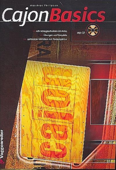 Cajon Basics (+CD) (dt): Matthias Philipzen