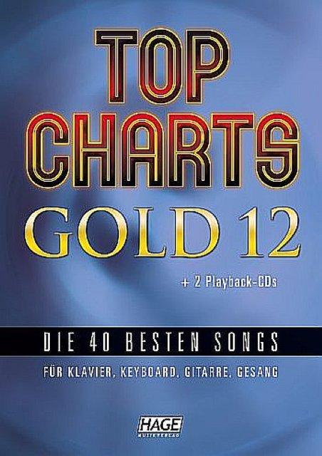 Top Charts Gold Band 12 (+2 CD's +Midifiles