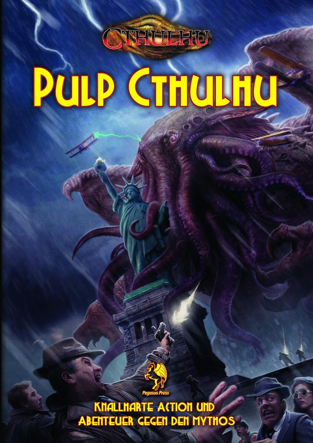 Cthulhu: Pulp Cthulhu (Hardcover) \*limitierte Ausgabe\*
