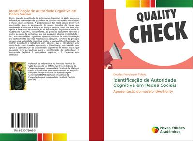 Identificação de Autoridade Cognitiva em Redes Sociais : Apresentação do modelo idAuthority - Douglas Francisquini Toledo