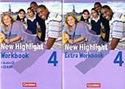 New Highlight - Baden-Württemberg: Band 4: 8. Schuljahr - Werkrealschulen (5 Wochenstunden): Workbook mit CD-ROM und Lieder-/Text-CD. Mit Workbook Extra im Paket