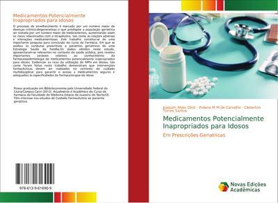 Medicamentos Potencialmente Inapropriados para Idosos : Em Prescrições Geriatricas - Joaquim Alves Diniz