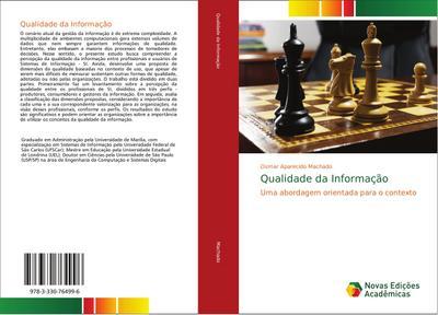Qualidade da Informação : Uma abordagem orientada para o contexto - Osmar Aparecido Machado