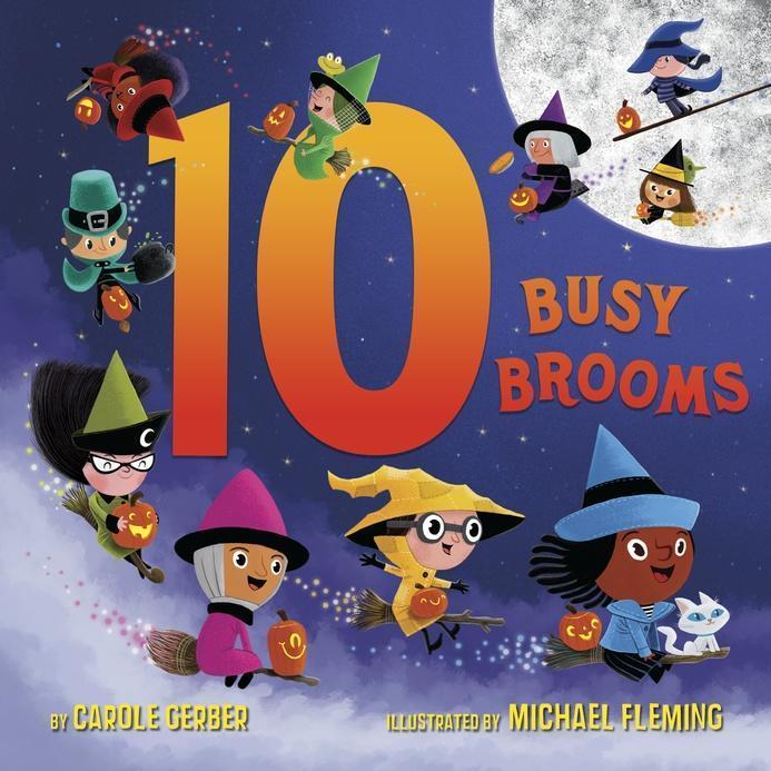 10 Busy Brooms: Carole Gerber