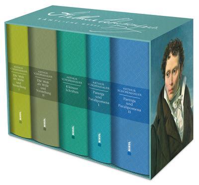 Schopenhauer: Sämtliche Werke in fünf Bänden im: Arthur Schopenhauer