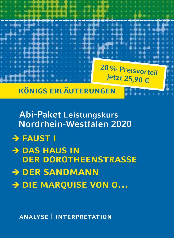 Abitur Deutsch Leistungskurs Nordrhein-Westfalen 2020 - Königs: Johann Wolfgang von