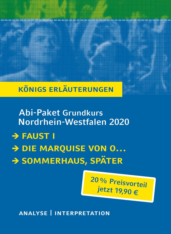 Abitur Deutsch Grundkurs Nordrhein-Westfalen 2020 - Königs: Johann Wolfgang von