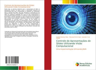 Controle de Apresentações de Slides Utilizando Visão Computacional : Uma Implementação Utilizando JAVA - Salatiel Dantas Silva