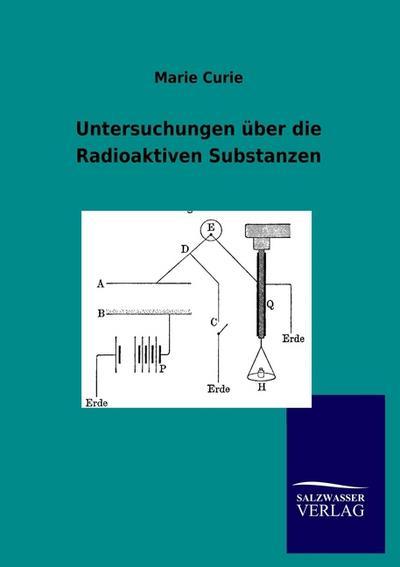 Untersuchungen über die Radioaktiven Substanzen - Marie Curie