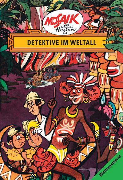 Die Digedags. Weltraum-Serie 05. Detektive im Weltall - Hannes Hegen