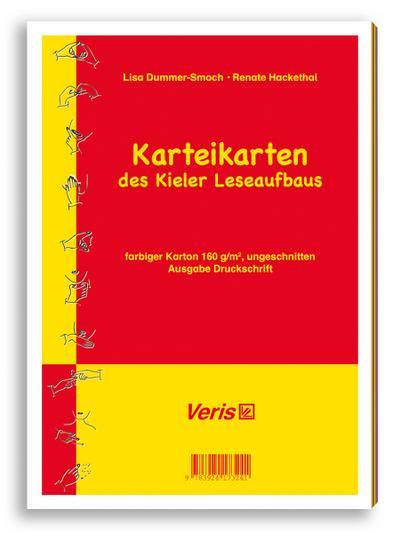 Kieler Leseaufbau / Einzeltitel / Kieler Leseaufbau. Karteikarten in Druckschrift (ungeschnitten) : (150g/qm, DIN A4) - angepasst an die neue Rechtschreibung - Lisa Dummer-Smoch