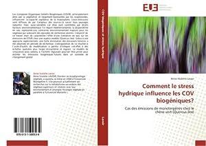 Comment le stress hydrique influence les COV: Anne-Violette Lavoir