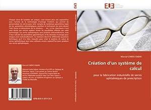 Création d'un système de calcul : pour: Marcial CARDO-SABAN