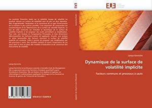 Dynamique de la surface de volatilité implicite: Lamya Kermiche