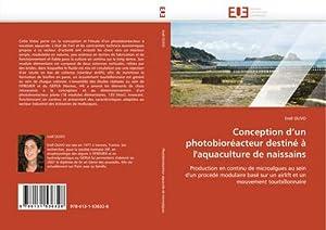 Conception d'un photobioréacteur destiné à l'aquaculture de: Erell OLIVO