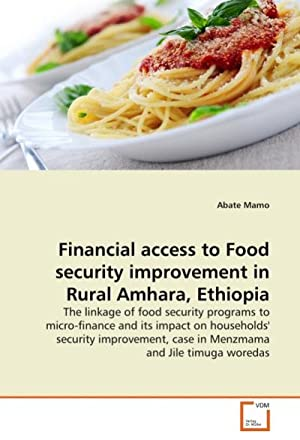 Financial access to Food security improvement in: Abate Mamo