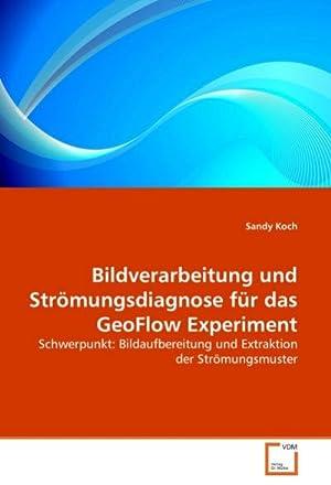 Bildverarbeitung und Strömungsdiagnose für das GeoFlow Experiment: Sandy Koch
