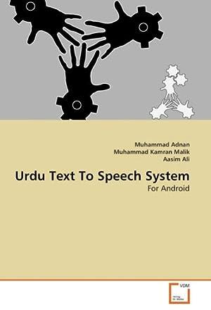 Urdu Text To Speech System : For: Muhammad Adnan