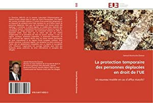 La protection temporaire des personnes déplacées en: Samuel Boutruche-Zarevac