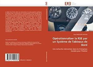 Opérationnaliser la RSE par un Système de: Fana RASOLOFO-DISTLER