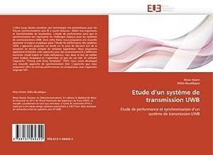 Etude d'un système de transmission UWB : Moez Hizem