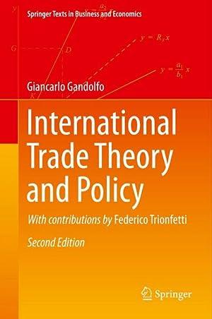 International Trade Theory and Policy: Giancarlo Gandolfo