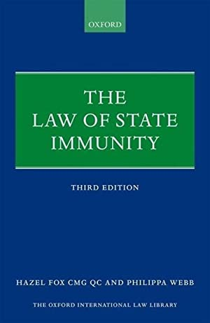 The Law of State Immunity: Qc Fox
