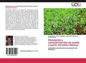Obtención y caracterización de aceite a partir: Jorge Octavio Virues