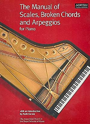 Manual of Scales, Broken Chords and Arpeggios: Ruth Gerald