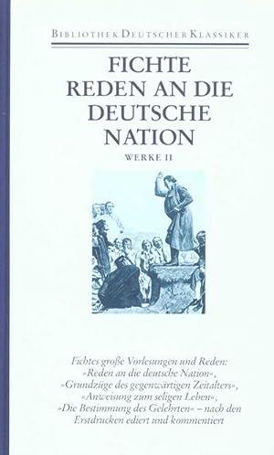 Werke Schriften zur angewandten Philosophie: Johann G. Fichte