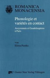 Phonologie et variétés en contact : Aveyronnais: Elissa Pustka