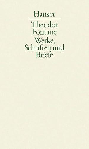 Briefe. Kommentar : 4. Abteilung, Band V / 2: Theodor Fontane