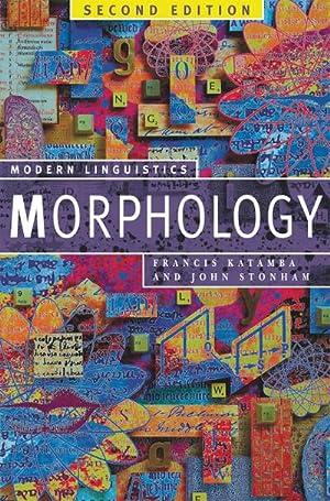 Morphology: Francis Katamba