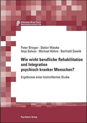 Wie wirkt berufliche Rehabilitation und Integration psychisch: Anja Galvao
