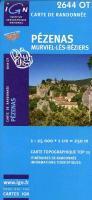 Pézenas - Murviel-Lès-Béziers 1 : 25 000