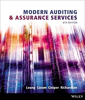 Modern Auditing and Assurance Services: Philomena Leung