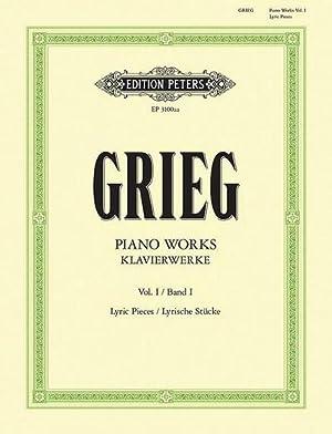 Klavierwerke - Band 1: Lyrische Stücke -: Edvard Grieg
