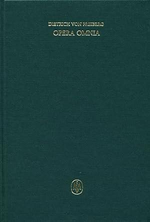 Opera omnia III : Schriften zur Naturphilosophie und Metaphysik. - Quaestionen: Dietrich von ...