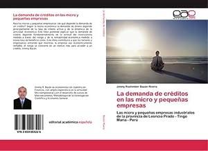 La demanda de créditos en las micro: Jimmy Roshimber Bazán