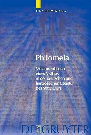 Philomela : Metamorphosen eines Mythos in der deutschen und französischen Literatur des ...