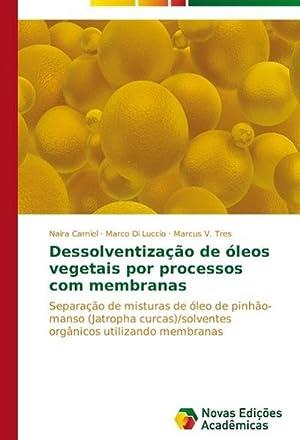 Dessolventização de óleos vegetais por processos com: Naira Carniel